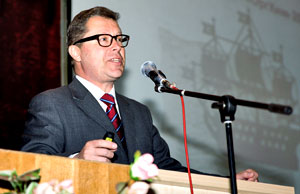 Vadim Kukushkin, chairman of the organizing committee of the OrgChem-2013