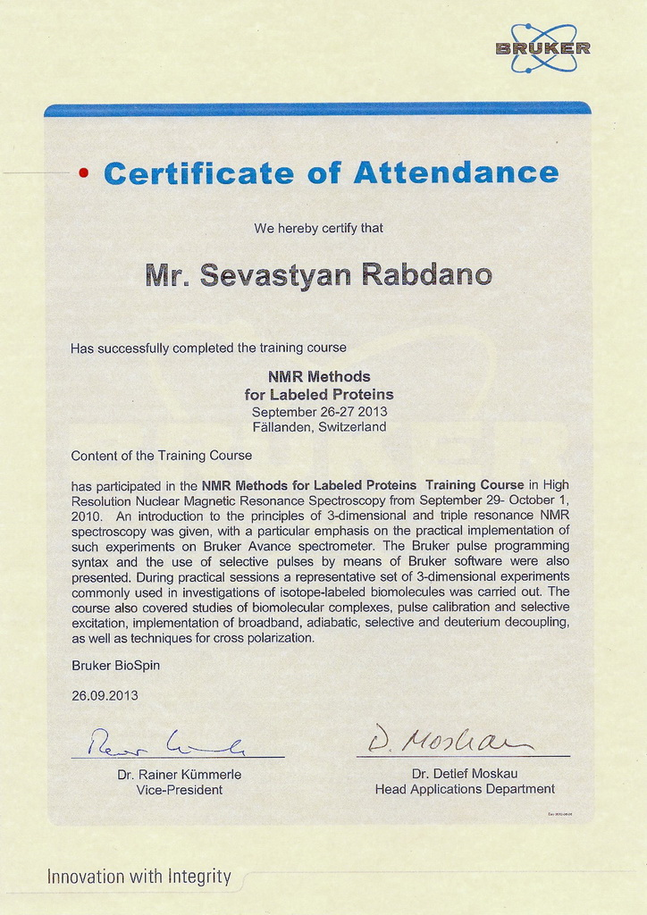 Bruker-certificate-Rabdano