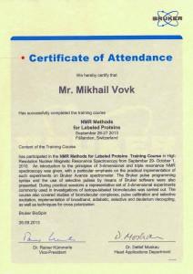 Bruker-certificate-Vovk